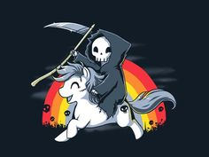 From TeeTurtle  Death Is Magic.