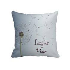 Dandelion Peace Pillows