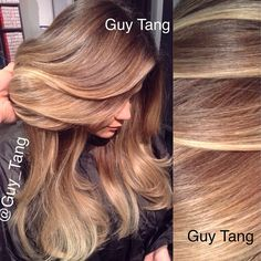 Dimensional Balayage Ombre by Guy Tang