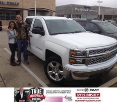 https://flic.kr/p/Cjttc1   Happy Anniversary to Ryan on your #Chevrolet #Silverado 1500 from Victor Rodriguez at McKinney Buick GMC!   deliverymaxx.com/DealerReviews.aspx?DealerCode=ZAKC