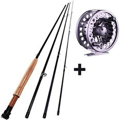 Sougayilang Saltwater Freshwater Fly Fishing Rod with Reel Combo Kit: We are presently offering the… Fishing Rod Rack, Fishing Rod Storage, Fly Fishing Rods, Fishing Bait, Best Fishing, Saltwater Fishing, Fishing Reels, Fishing Tips