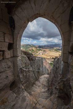 Sperlinga castle. Enna, Sicily