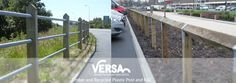 Versa's #Post and #Rail systems are a decorative means of restricting access to potentially hazardous areas, they are ideally suited to roads, waterfronts, on bridges, and near steep inclines.  View our  Post and Rail range here: http://versauk.co.uk/Post-&-Rail-Systems/Timber-&-Recycled-Plastic.html