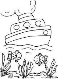 Resultado de imagen de dibuixos infantils de vaixells