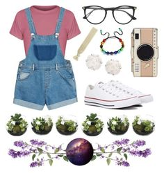 """""""An Outing With Friends"""" by gwabby on Polyvore featuring Converse, Monki, Kate Spade, Gucci, Accessorize and Chanel"""