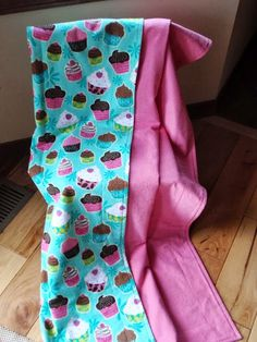 Baby/Toddler Blanket  Yum  For by BabyBlueJDesigns on Etsy, $20.95