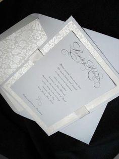 Latest Designs - Elegant Wedding Invitations, Custom Stationery, Bar/Bat Mitzvah announcements – handmade by Clover Creek