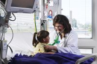 I would love to be a pediatrician because I love kids. I would love to make kids better and make them happy.