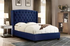 Looking for Diamond Sofa Eastern King Majestic Tufted Bed Royal Navy Velvet ? Check out our picks for the Diamond Sofa Eastern King Majestic Tufted Bed Royal Navy Velvet from the popular stores - all in one. Headboards For Queen Beds, King Bed Headboard, Queen Size Headboard, Tufted Headboards, Cheap Headboards, Nailhead Headboard, High Headboards, Fabric Headboards, Cushion Headboard