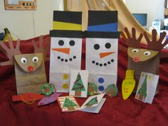 Must make these goody bags for Addy's pre-k class for Christmas