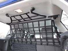 Upper barrier net and small ceiling net for Xterra. www.raingler.com