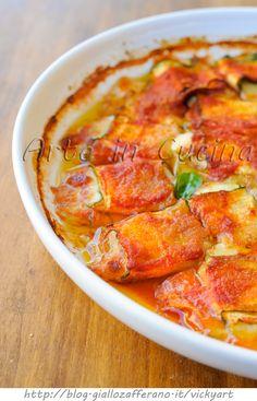 Rotolini di zucchine sfiziosi veloci in padella o forno vickyart arte in cucina