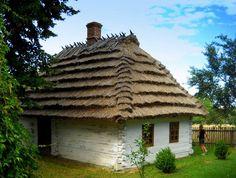 Roztocze -Poland...dom -skansen w Markowej