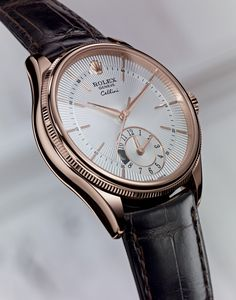 Check out this amazing Rolex New Cellini Dual Time watch from the Cellini Collection!! For more information regarding this timepiece, please be sure to visit http://www.cdpeacock.com/.