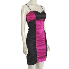 NWT Blondie Nites 1980s Bandage  Vintage Dress Body Con Ruched Mini   #BlondieNites