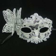 Christmas-Prom-Party-Silver-Side-Butterfly-Masquerade-Collection-Venetian-Mask