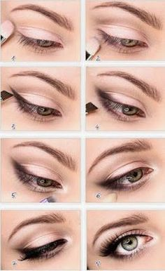 Wedding Makeup Tips For Eyes | Read more: http://simpleweddingstuff.blogspot.com/2015/06/wedding-makeup-tips-for-eyes.html