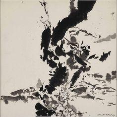 Zao_Wou_ki_Untitled_1999_DE_SARTHE_GALLERY_Ink_on_paper