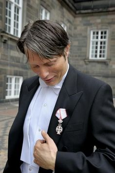 After having been knighted.