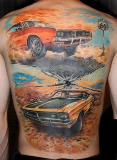 tattoo ideas for bean on pinterest route 66 car tattoos and hot rods. Black Bedroom Furniture Sets. Home Design Ideas