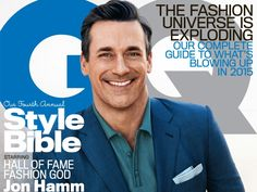 Jon Hamm Keeps It Handsome As He Talks Saying Goodbye To 'Mad Men' In 'GQ'