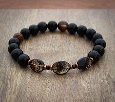 Black+Stretch+Bracelet