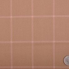 Oscar de la Renta Tan and Pink Wool Double Cloth This is a medium weight, worsted wool, double face, twill plaid. Easy to work with, has a nice luster. I Believe In Pink, Mood Fabrics, Buy Fabric, Fashion Fabric, Fabric Online, Happy Girls, Fabric Swatches, Fashion Online, Wool