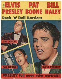 Rock 'n' Roll Battlers Magazine Featuring Elvis Presley