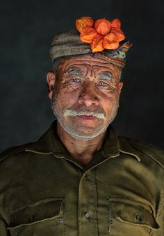 Portraits of Drokpas in Northern India, thought to be either the 'last pure specimens' of the Aryan race, or direct descendants of Alexander the Great's army. Photographed by Abhishek Nandy