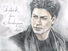 Amazing . . . . Pencil Sketches Easy, Art Sketches, Celebrity Drawings, Celebrity Portraits, Allu Arjun Wallpapers, Best Hero, Anime Angel, Pencil Portrait, Shahrukh Khan