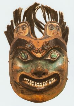 Tlingit Shaman's Mask ~ Native American Indian