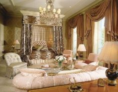 elegant bedroom - Google Search