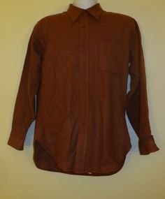 Vintage Country Traditionals by Pendleton Red Shirt Blue Button up %100 Wool!!  $24.99