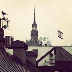 Dachy Warszawy #warszawa #śródmieście
