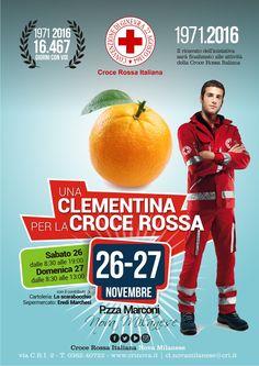 """""""Una Clementina per la Croce Rossa"""" Raccolta Fondi - 26-27 Novembre 2017"""