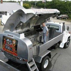#Texas size #barbeque #pit