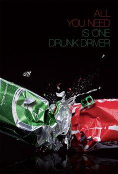 Todo lo que se necesita es un conductor borracho