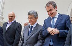 La oposición niega un encuentro con el chavismo en el que sí estuvo Zapatero