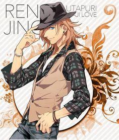 Jinguji Ren - Uta no☆prince-sama♪ - Image - Zerochan Anime Image Board Manga Boy, Manga Anime, Anime Art, Hot Anime Guys, Anime Love, Jinguji Ren, Uta No Prince Sama, Bishounen, Manga Characters