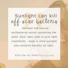 There's also a really important fact about sunshine and acne you need to know. It links into why so many people might be experiencing acne now. Well over 80% of adults at some point in their life. Click my #SkinTip to find out more. #acnetreatment #honestyforyourskin Acne Skin, Acne Prone Skin, Oily Skin, How To Get Rid Of Acne, How To Find Out, Spots On Face, Skincare Blog, Best Acne Treatment, Prevent Wrinkles