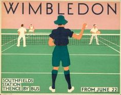 Wimbledon ... thence by bus.