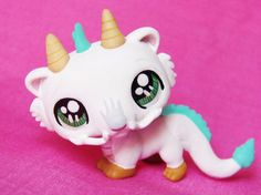 Littlest Pet Shop Chinese Dragon HAKU ooak custom figure LPS Spirit Away  #Hasbro