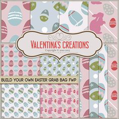 """Valentinas Creations Blog » Blog Archive » """"Build Your Own Easter Grab Bag"""" and free with purchase!"""