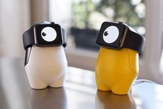 vivien muller wants a cute monster to charge your smartwatch