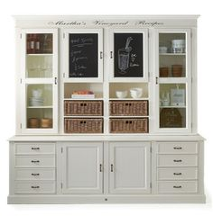 Martha's Vineyard recipes Cabinet - Storage Chests and Cupboards | Rivièra Maison