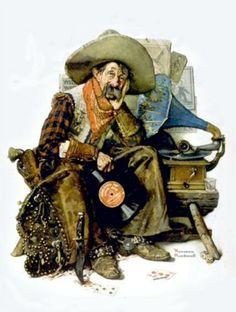 Cowboy - Norman Rockwell
