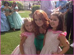 Debby Ryan Hangs Out With Sophia Grace And Rosie At Walt Disney World | Disney Dreaming