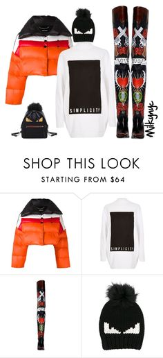 """""""Untitled #894"""" by mizzbehave ❤ liked on Polyvore featuring Diesel, River Island, Vetements and Fendi"""