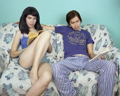 Photographer Captures One Person As Two Genders #gender #JJLevine #Levine