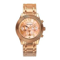 Mark Maddox - Must Laredo Pink And Gold, Rose Gold, Pandora, Gold Watch, Marvel, Watches, Chic, Accessories, Fashion